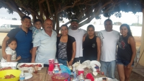 Ernesto with family