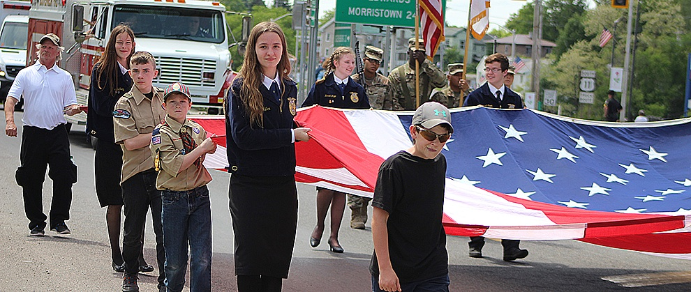 Gouverneur Chamber hosts Flag Day Parade 3 pic.jpg