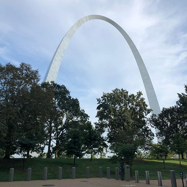 Nice Sunday walk #gatewayarch #stlouisarch #stlouis