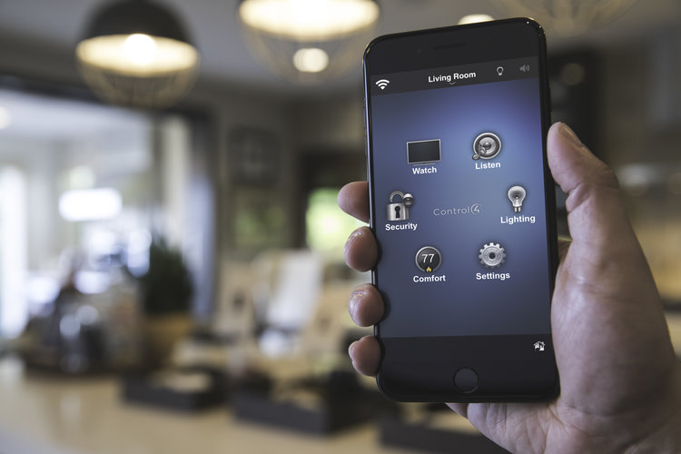 CONTROL YOUR HOME WITH YOUR OWN SMART DEVICE, EITHER AT HOME OR AWAY