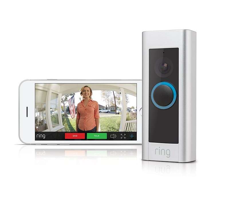 Ring doorbell - two way communication
