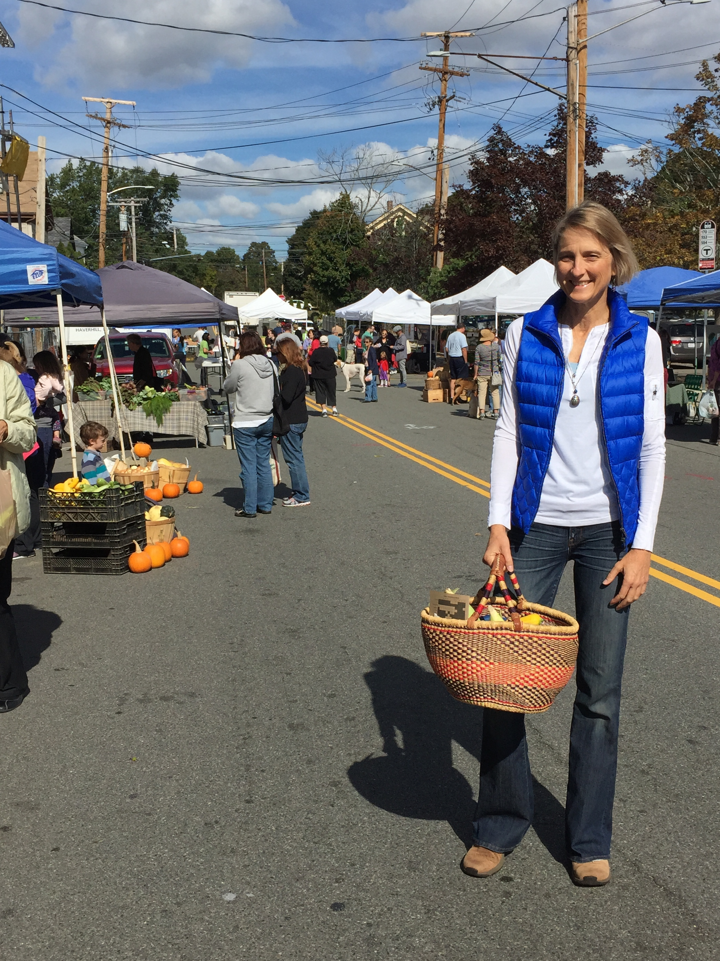 We can visit Farmers' markets too!