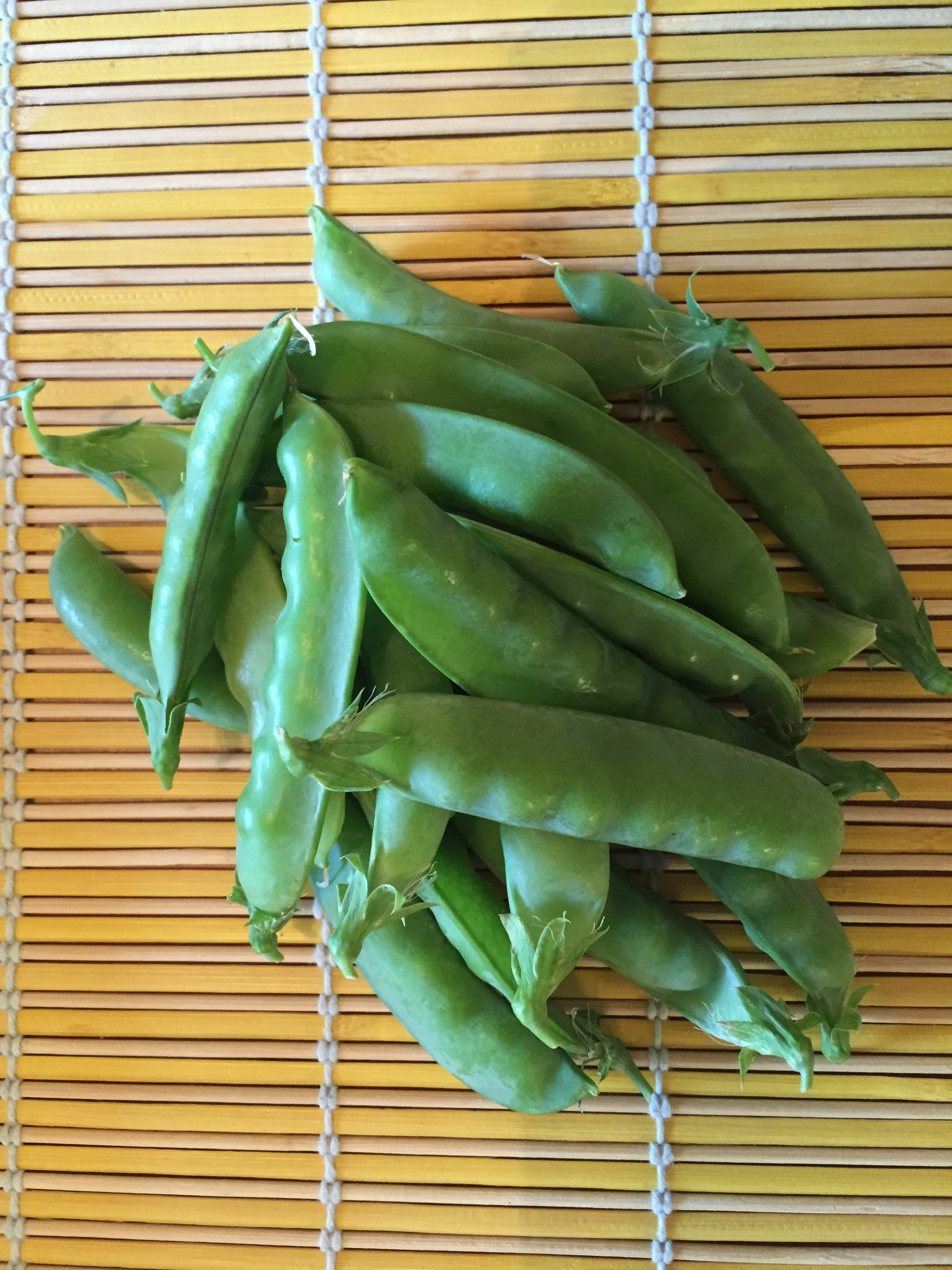 From pea harvest to plate!