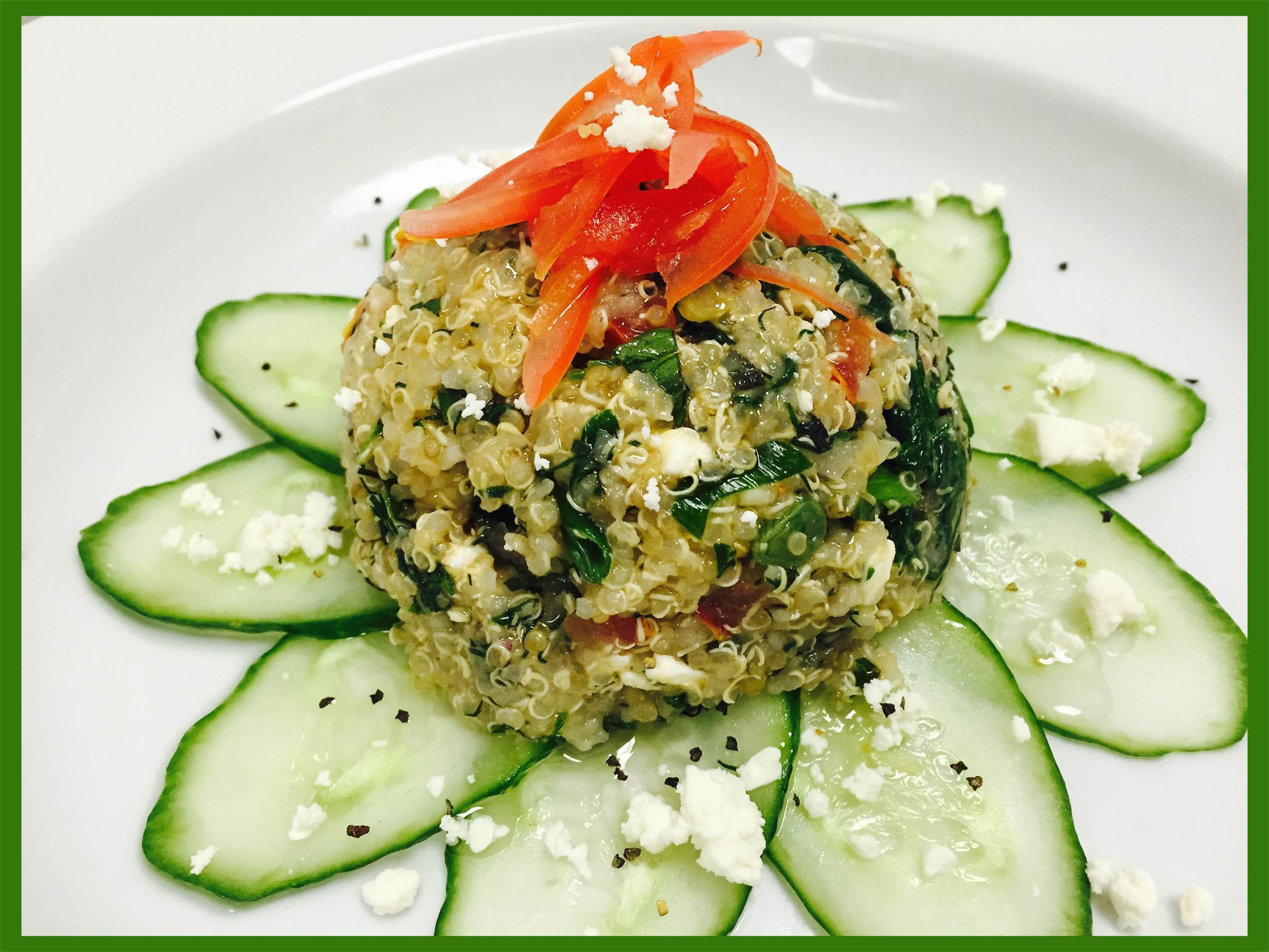 summer Quinoa, mint, and feta salad (Courtesy Jenn Knight)