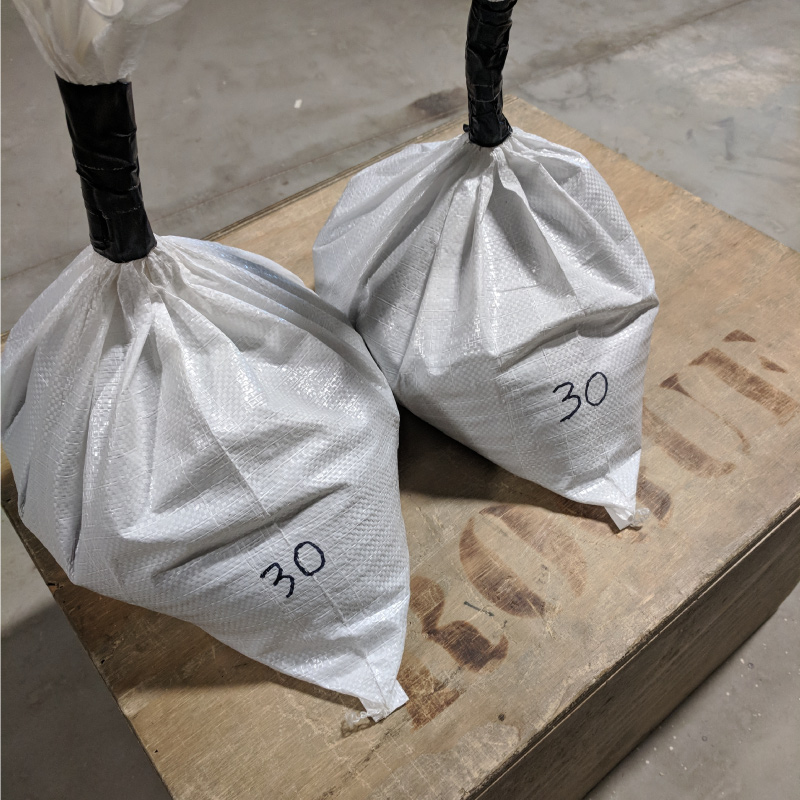 """Men will use 2x 45# Bags and a 24"""" Box. Women 2x 30# Bags and a 20"""" Box."""