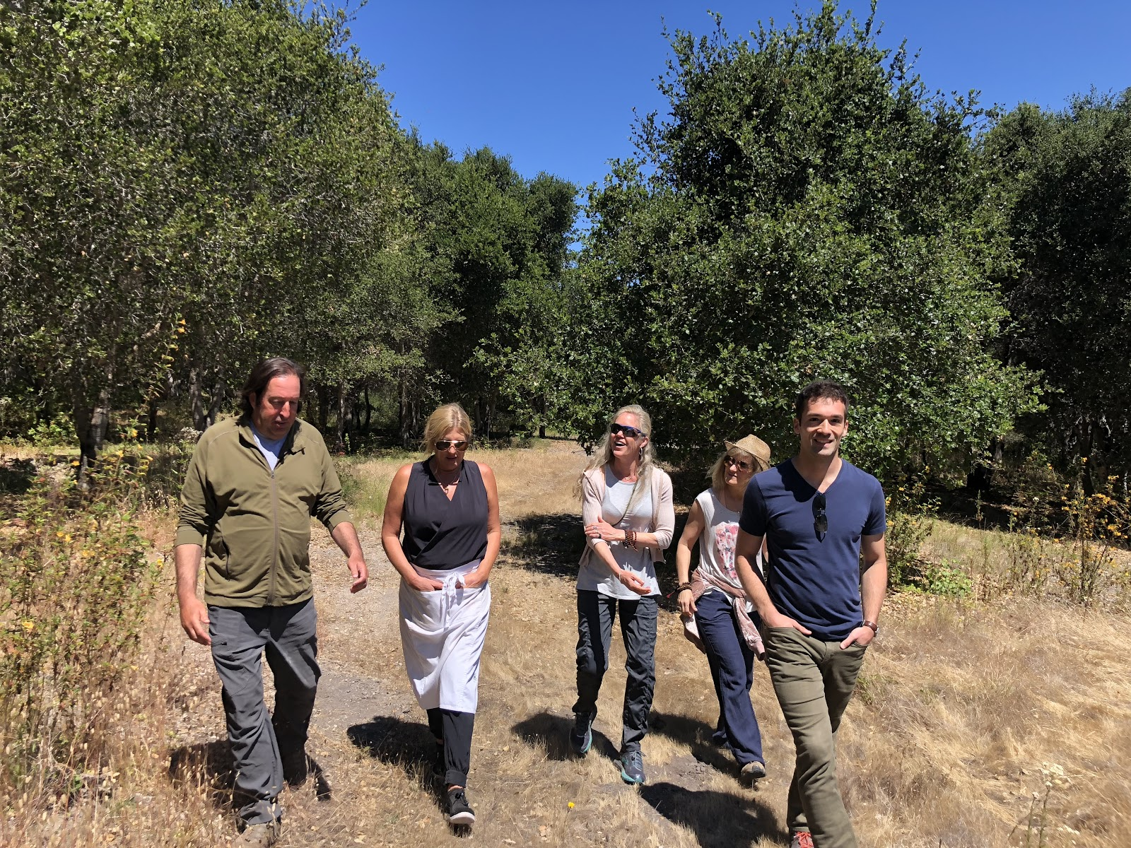 Walking Discussions - Topics and aspirations included:A focus on completely eliminating plastics at home.Creating a platform for scientists to better lead.Spending more time in nature to bring balance to our minds, bodies and society.