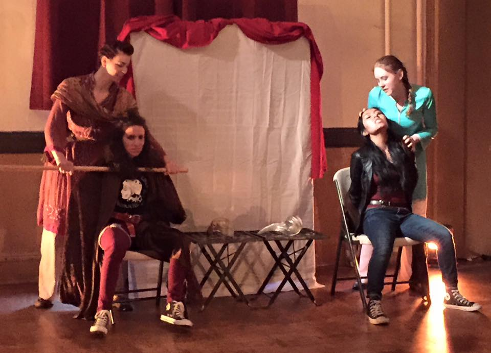 Demetrius,  Martyr'd SIgns: A Titas Andronicus Adaptation , Hudson Shakespeare Co
