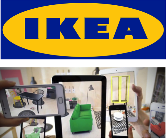Ikea catalog - Mobile App with AR