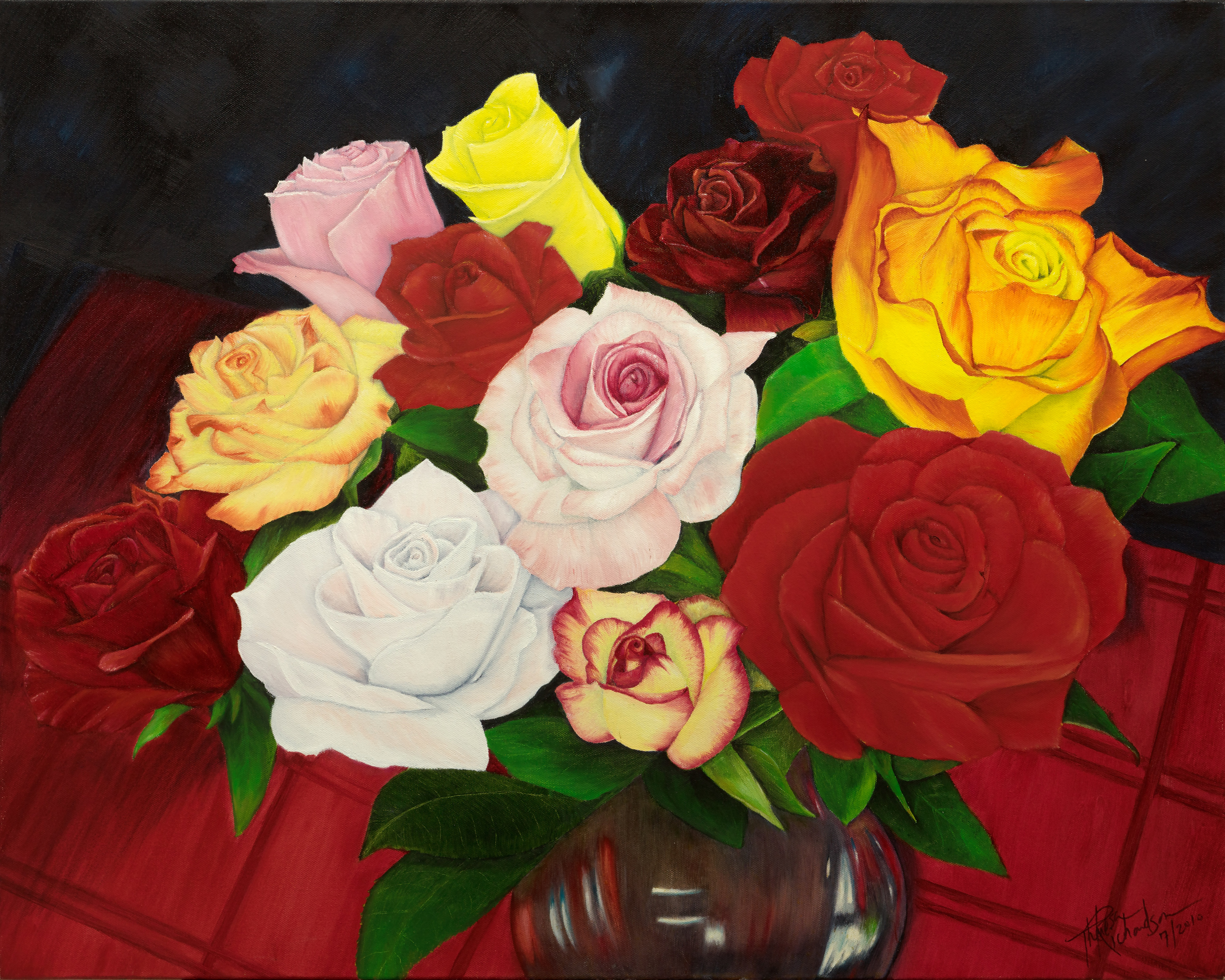Splendid Bouquet   , 2010, oil on canvas, 20 x 24 inches