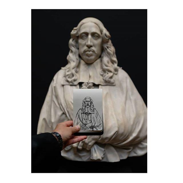 Sketching in the #rijksmuseum • • • • • #dutch #amsterdam #holland #netherlands #iamsterdam #sketch #sketches #sketchbook #drawing #dailysketch #art #artofinstagram #penandink #penandinkdrawing #statue #moleskine