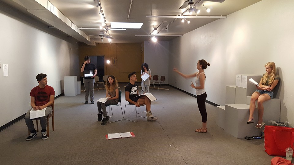 The Laramie Project  at the Q1Go rehearsal space, Art Lab Fort Collins.