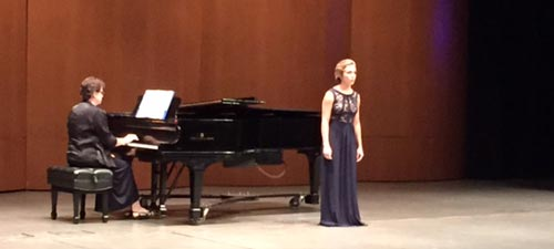 HHS senior Danielle Cottingham performs at Coker's spring recital, April 2015