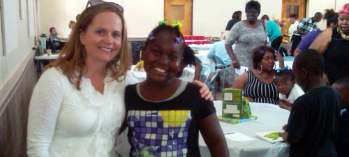 The mentor banquet celebrated the bonding between adults and students