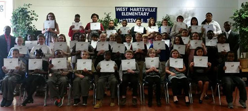 West Hartsville Elementary Beta Club inductees