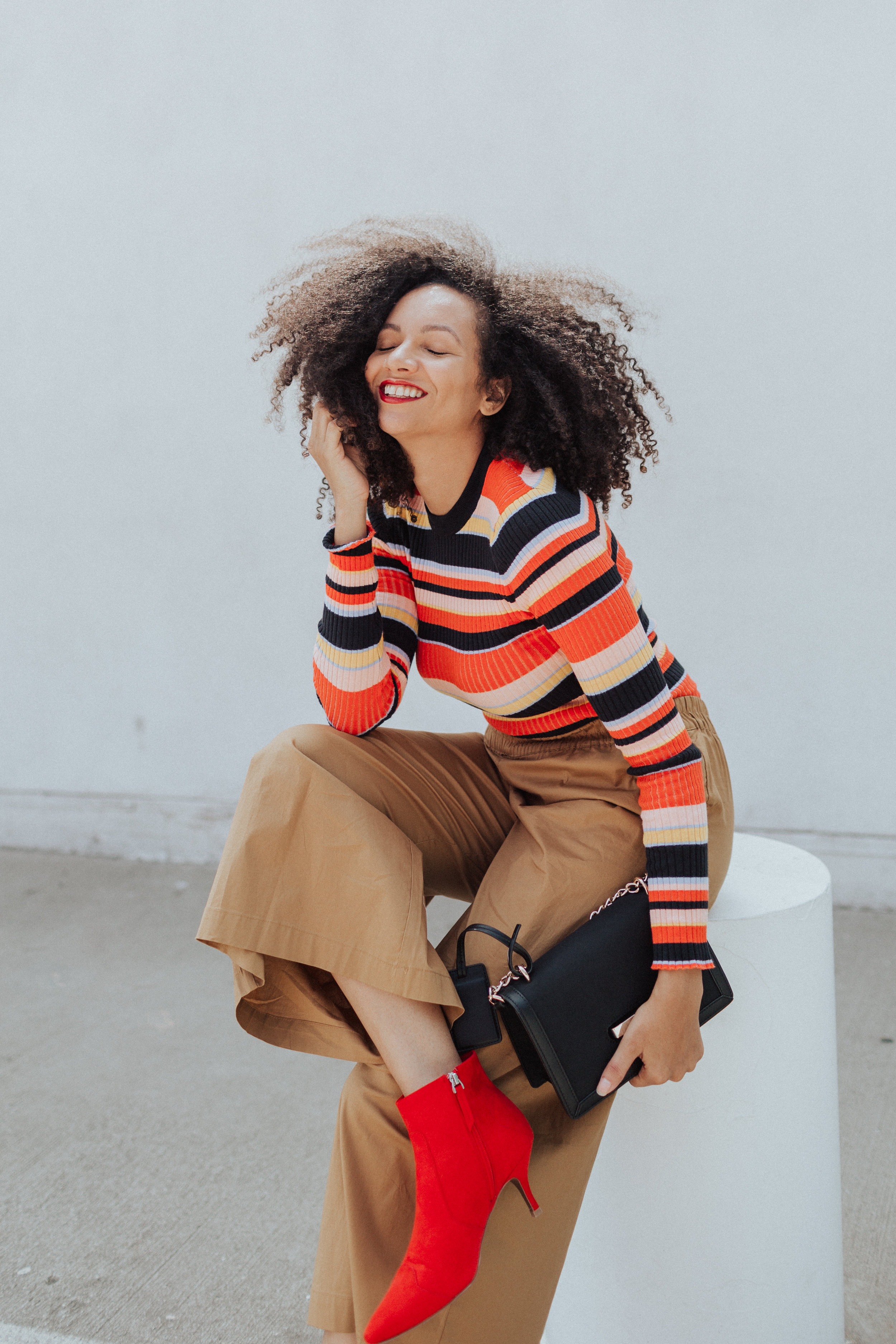 Target - Who What Wear,  Sweater ,  Ankle Pants ,  Ankle Boots , Purse coming soon ( similar here )