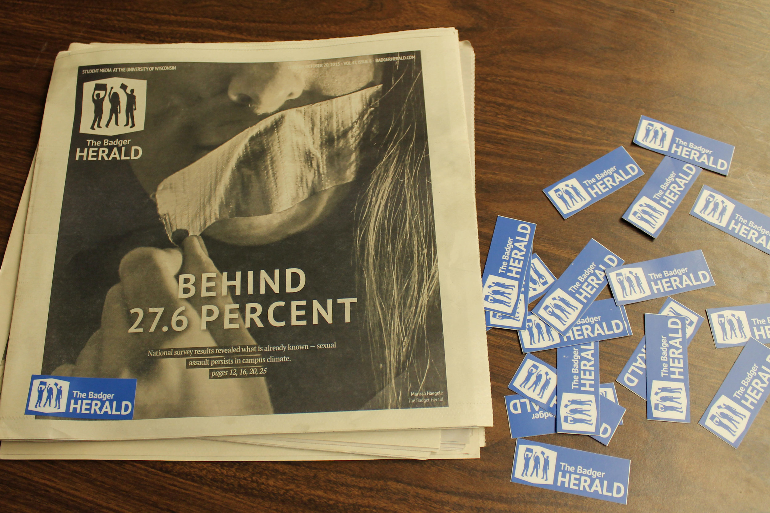 Since March 2014, The Badger Herald has written about sexual assault at least once every month.