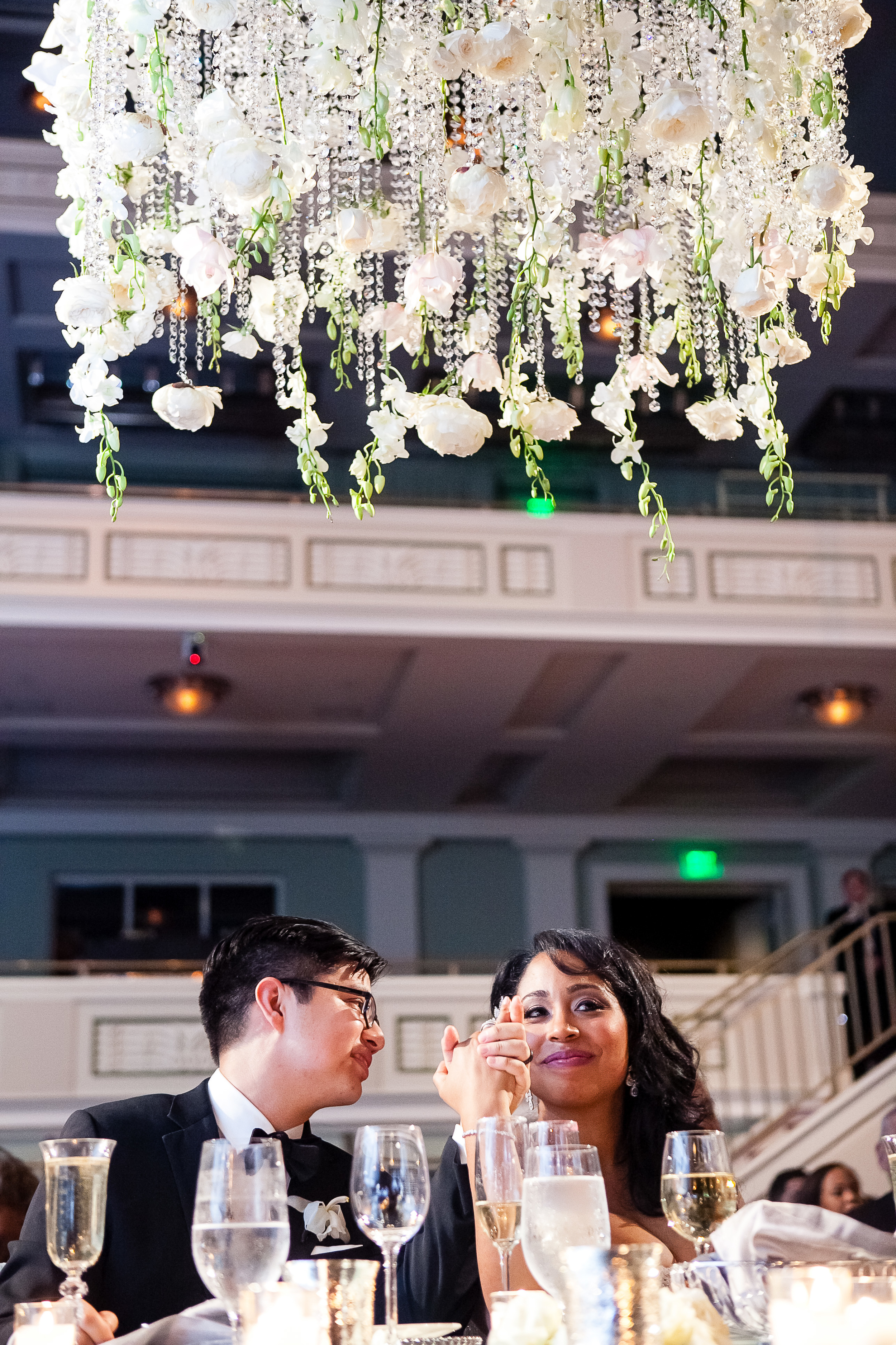 Groom_Looks_At_Bride_During_Toast_in_Nashville