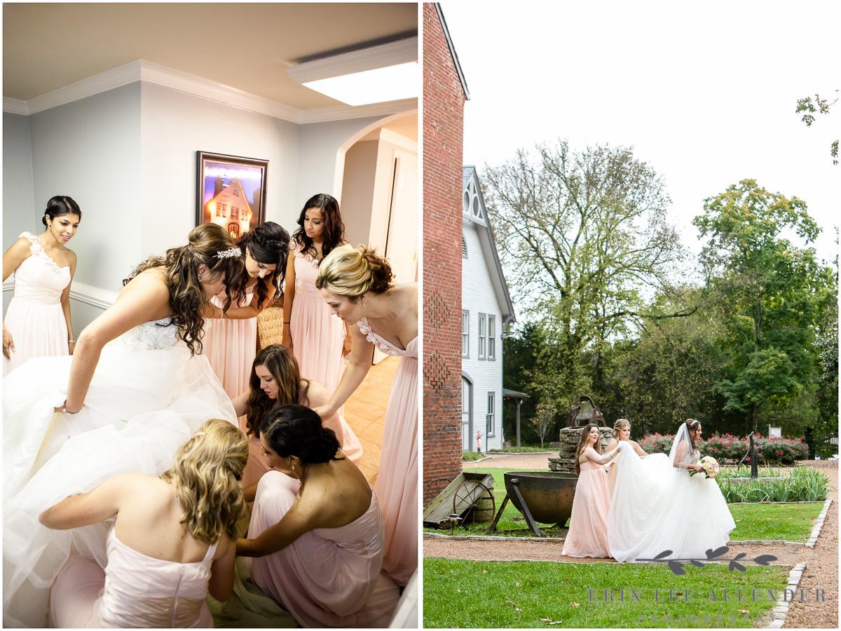 Bridemaids_Walk_Bride_To_First_Look