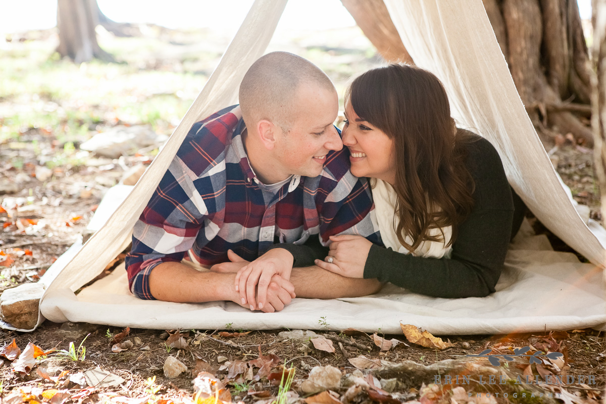Couple_In_Homemade_Tent