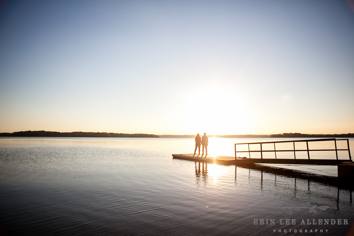 Sunset_On_Lake_Engagement_Photograph