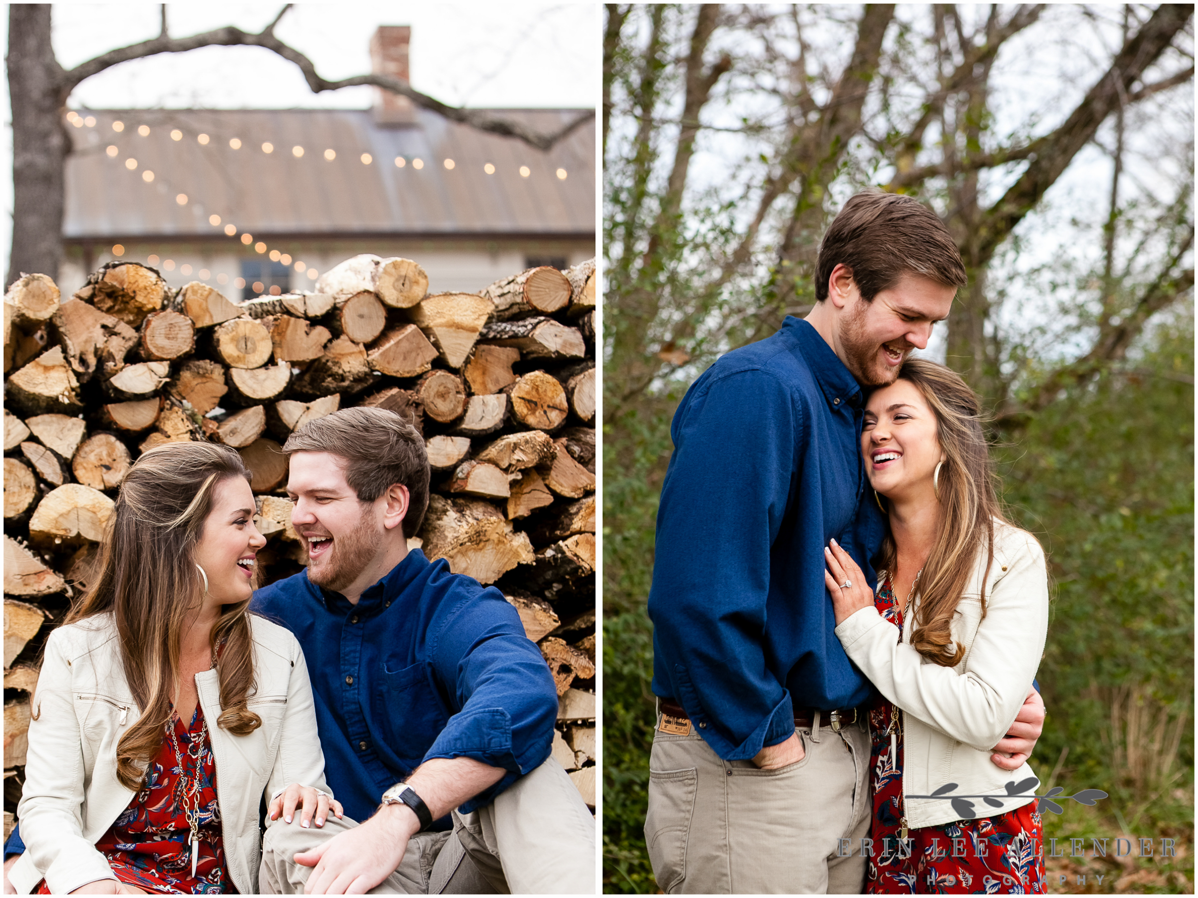Couple_Laughing_Christmas_Engagement_Session