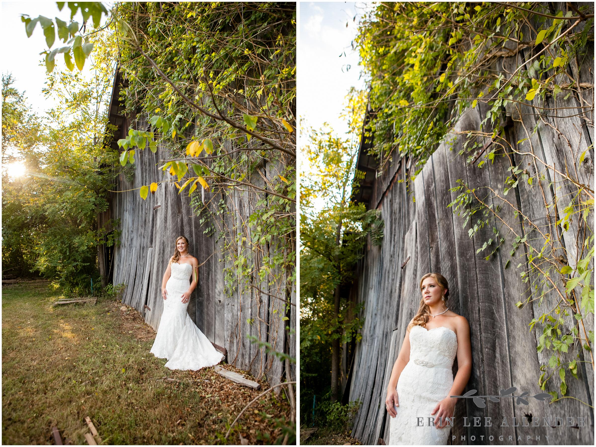 Bride_Leaning_Agaisnt_Barn