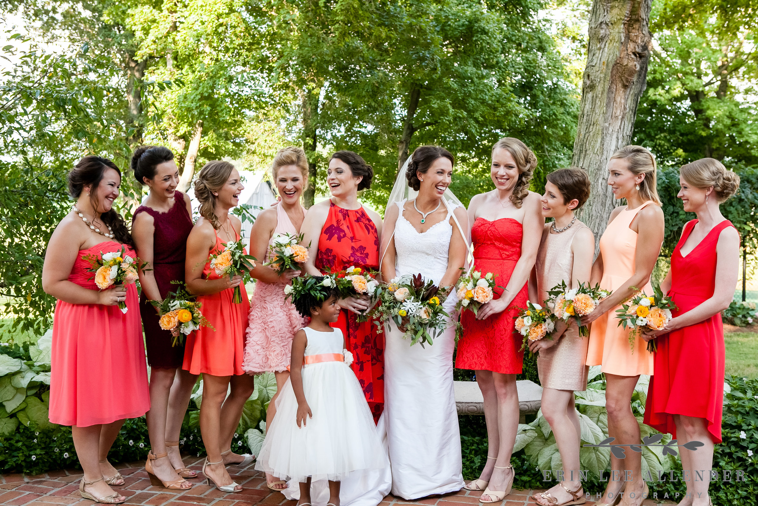 Bridal_Party_In_Family_Home_Backyard
