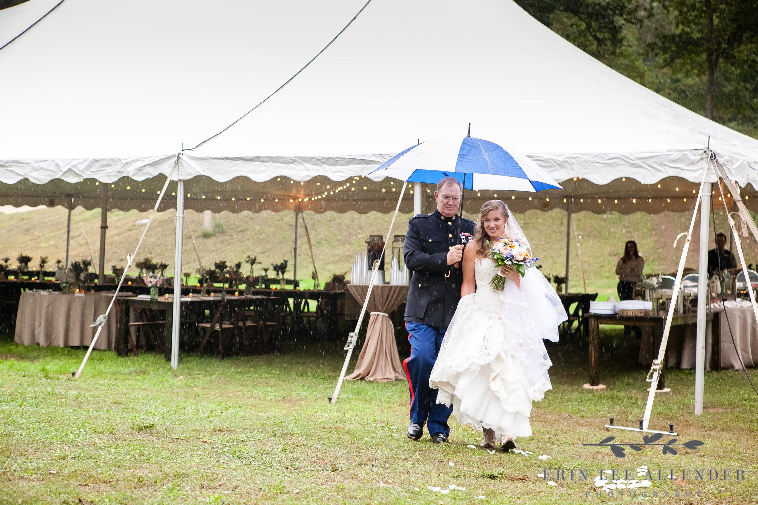 Bride_Walks_Down_The_Aisle_In_The_Rain