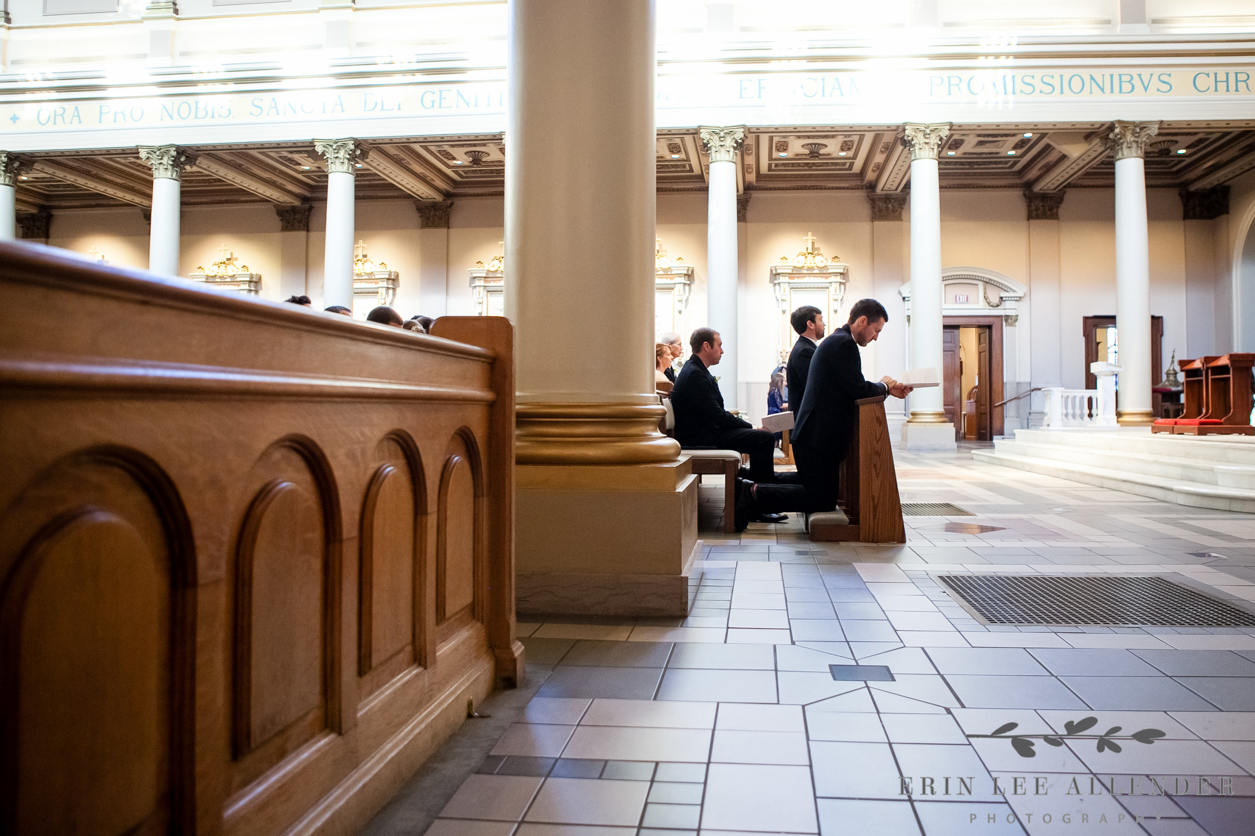 Groomsmen_Pray_Cathedral