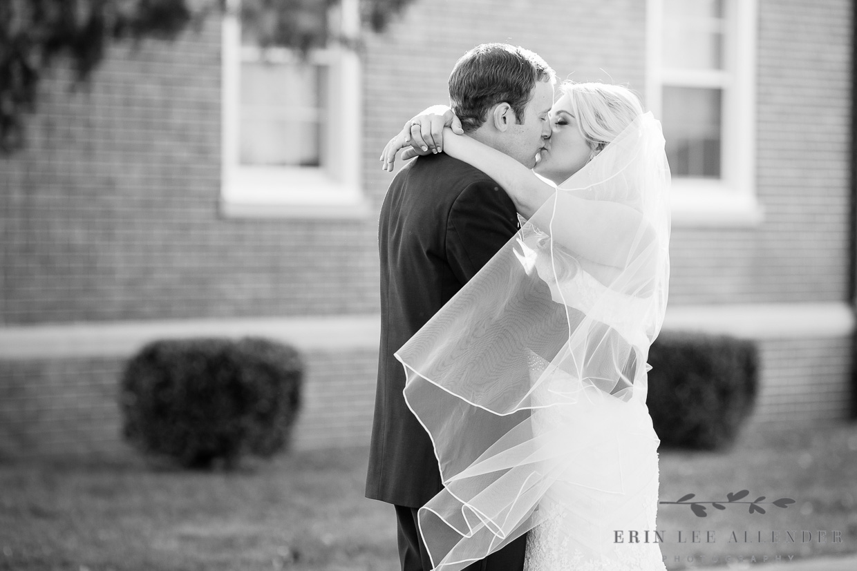 Groom_Kisses_Bride_Jackson_TN_Wedding
