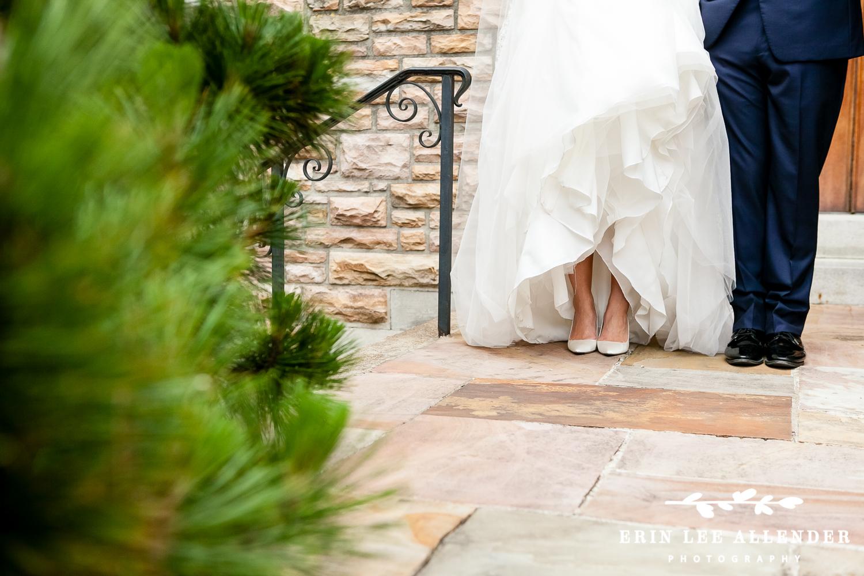 Classic_White_Heels_With_Wedding_Dress