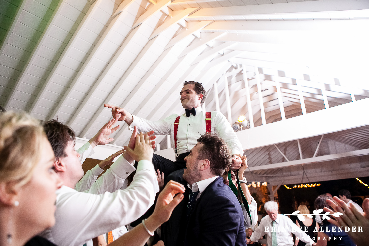 Groom_Hoisted_During_Reception