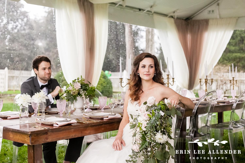 Bride_At_Vintage_Inspired_Wedding_Table