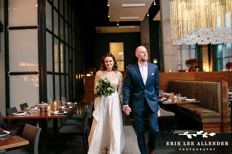 Couple_Walks_Into_Wedding_Together