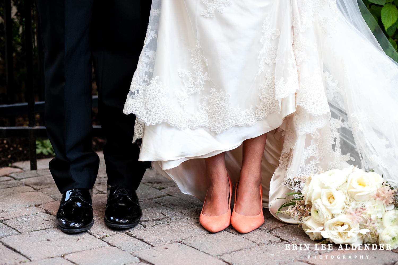 Peach_Wedding_Shoes