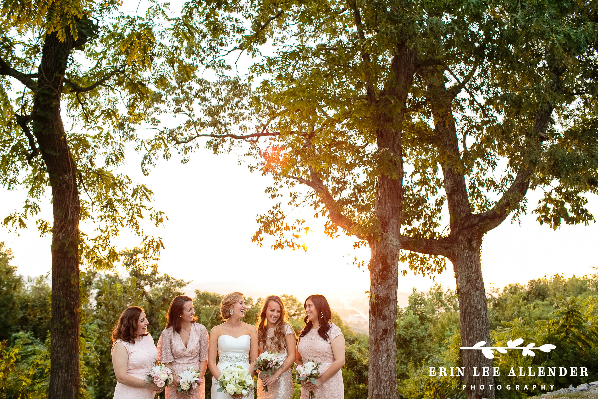 Bridesmaids_Laughing_Sunset