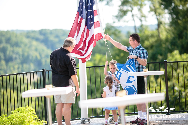 Raising_Kentucky_University_Flag