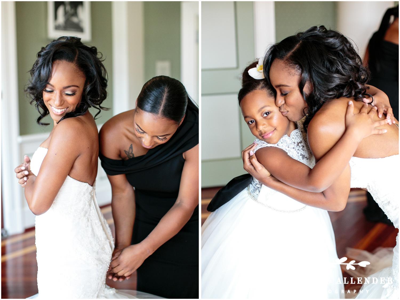Bride_Hugs_Flower Girl