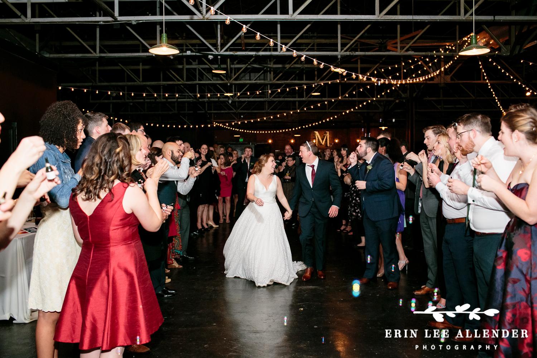 Bubble_Wedding_Reception_Exit