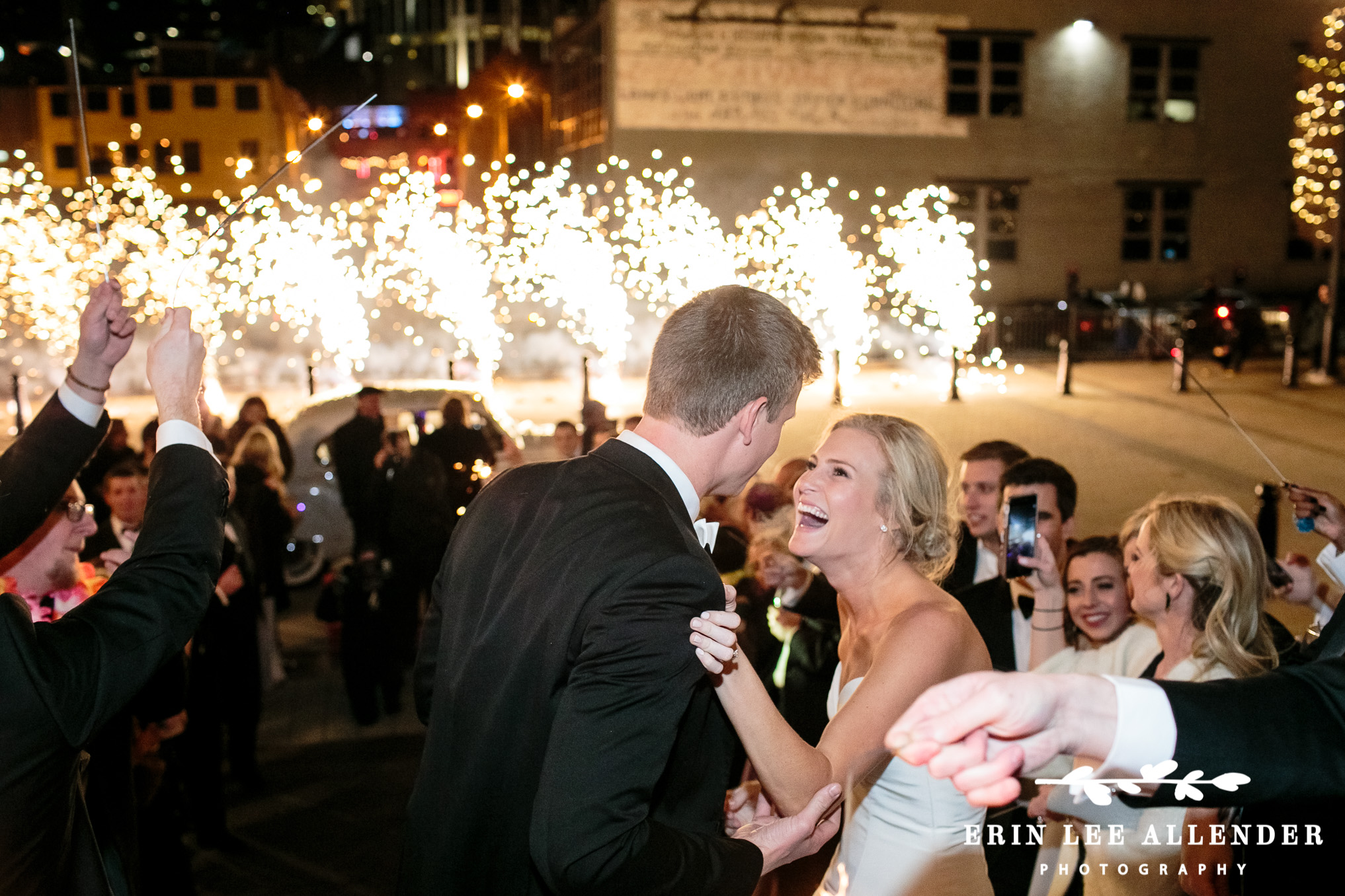 Pyrotechnic_Wedding_Exit