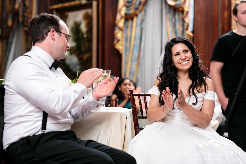 Bride_Claps_Toast