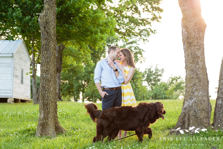Dog_Photobombing_Engagement_Photograph