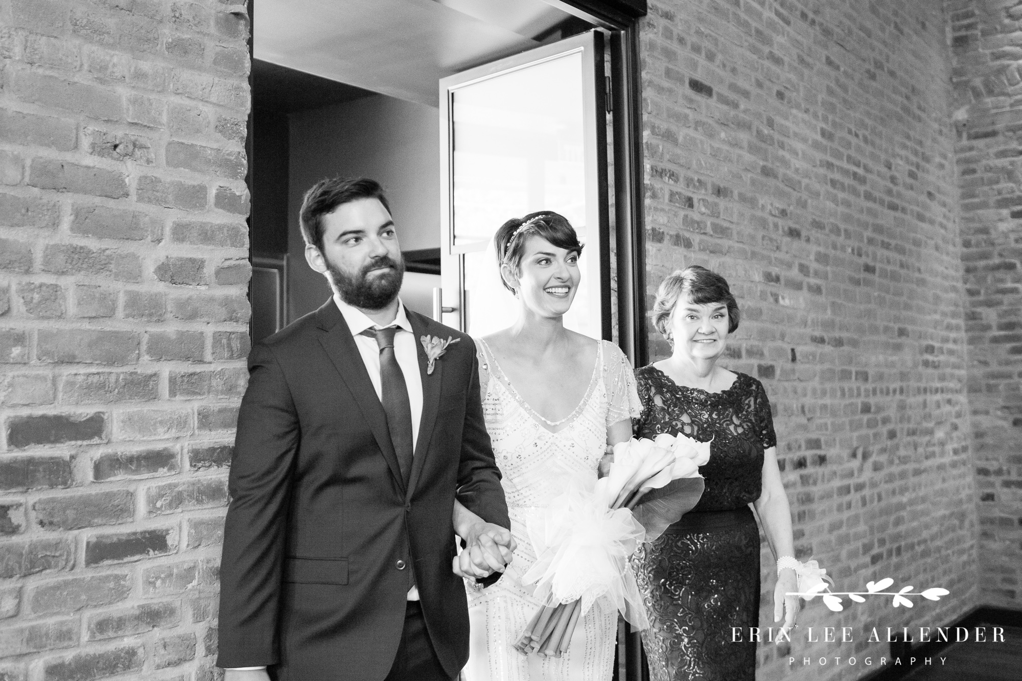 Mom_Brother_Walk_Bride_Down_the_Aisle