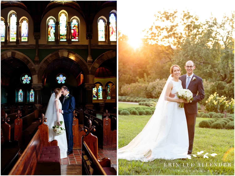 Dramatic-Church-Wedding-portrait