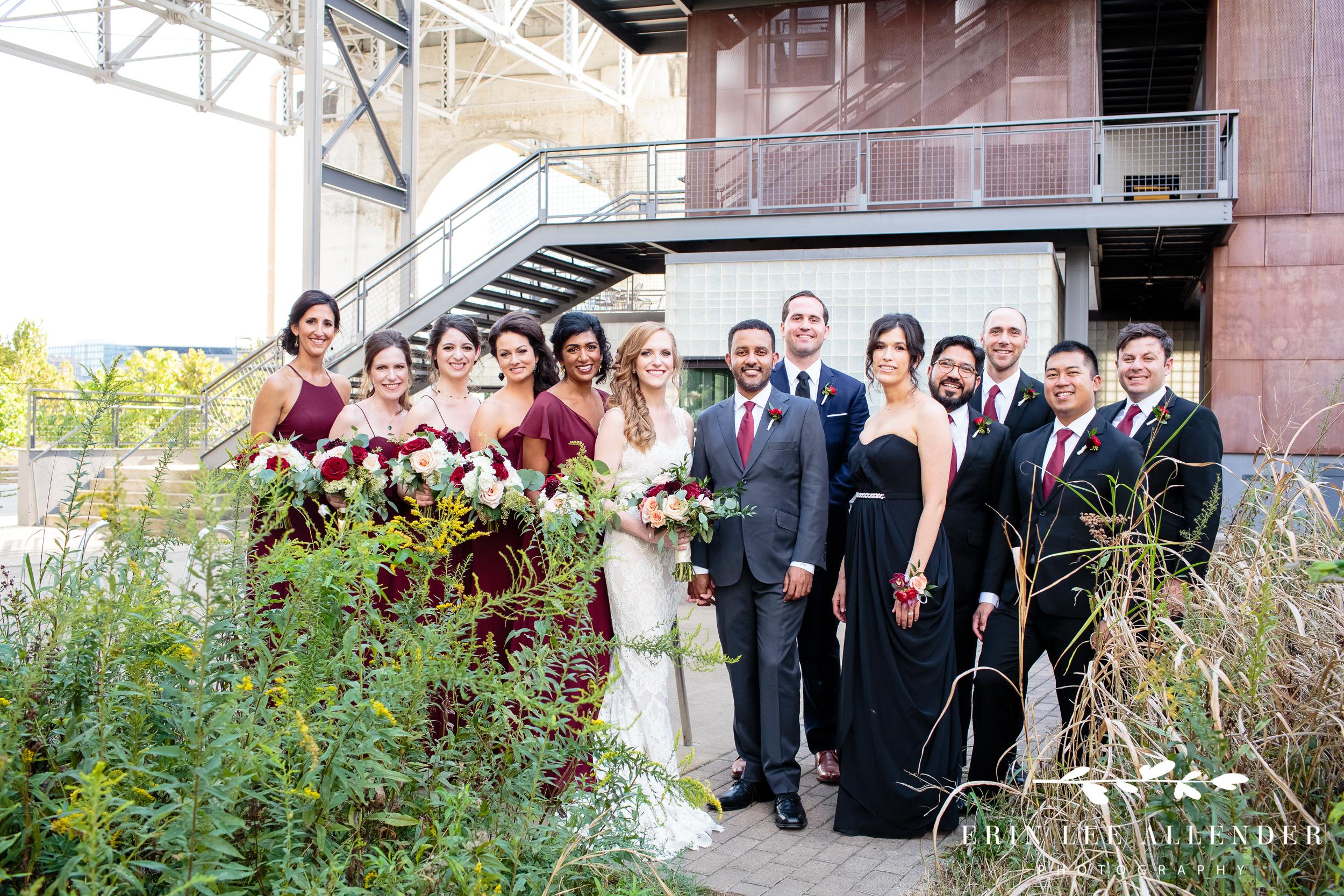 Wedding-party-photograph