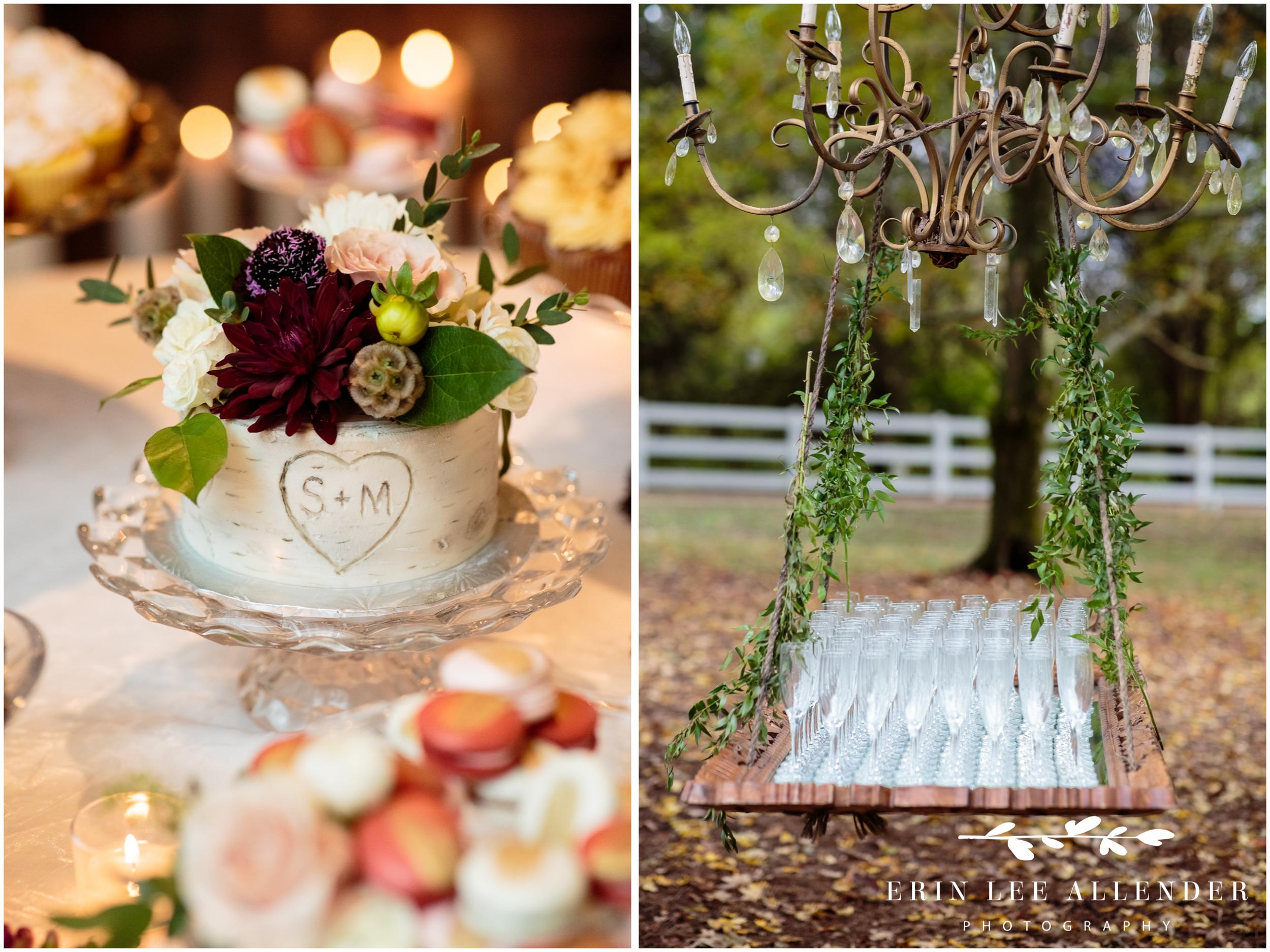 Birch-wedding-cake
