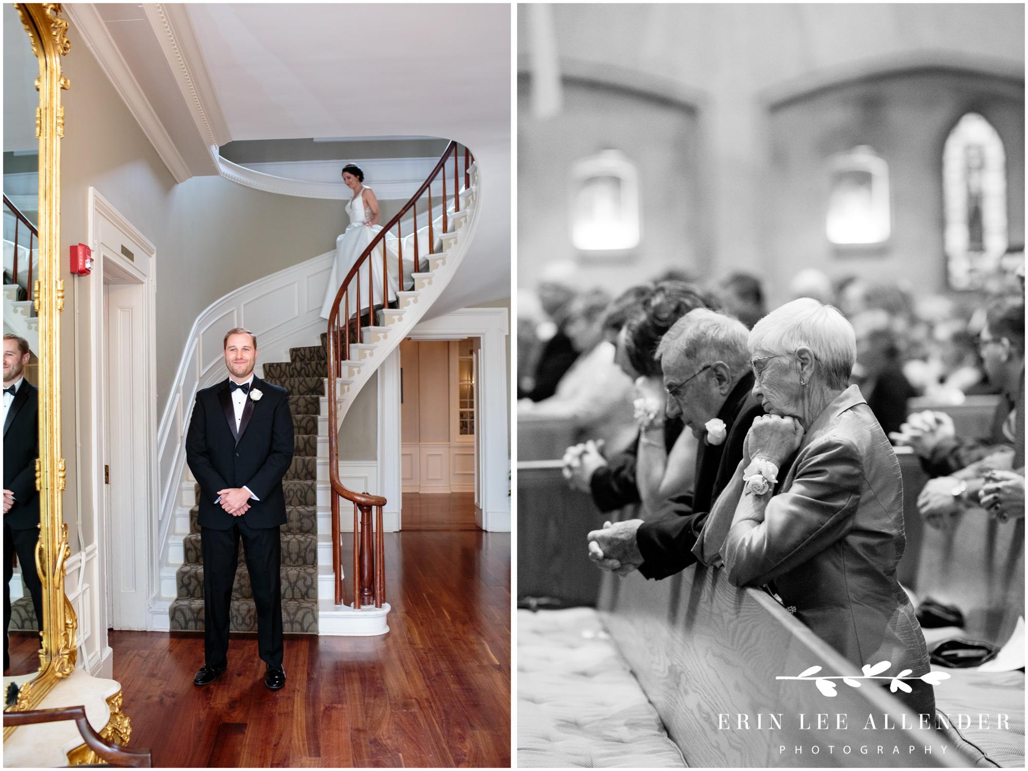 bride-comes-down-grand-staircase