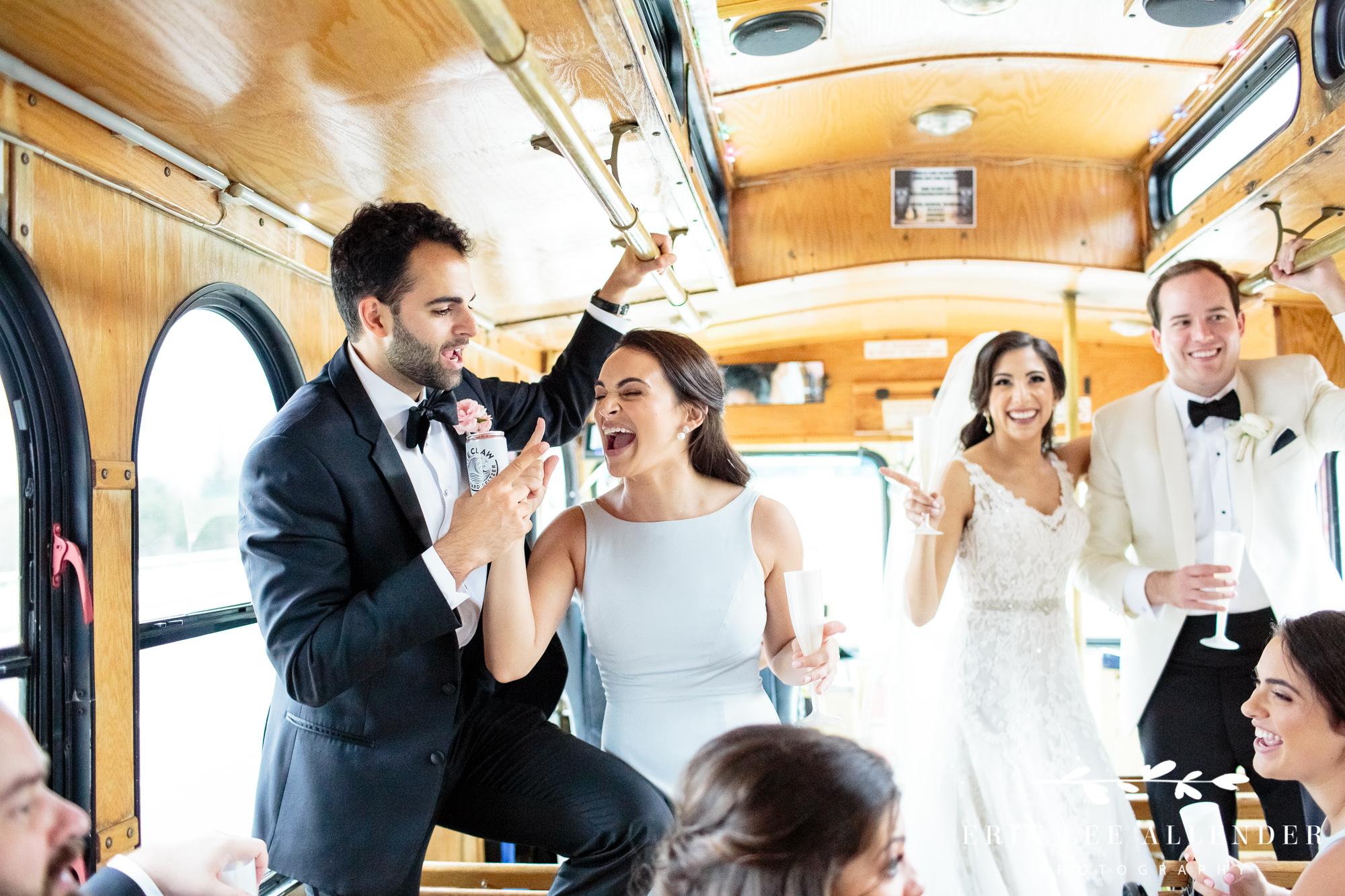 wedding-party-singing
