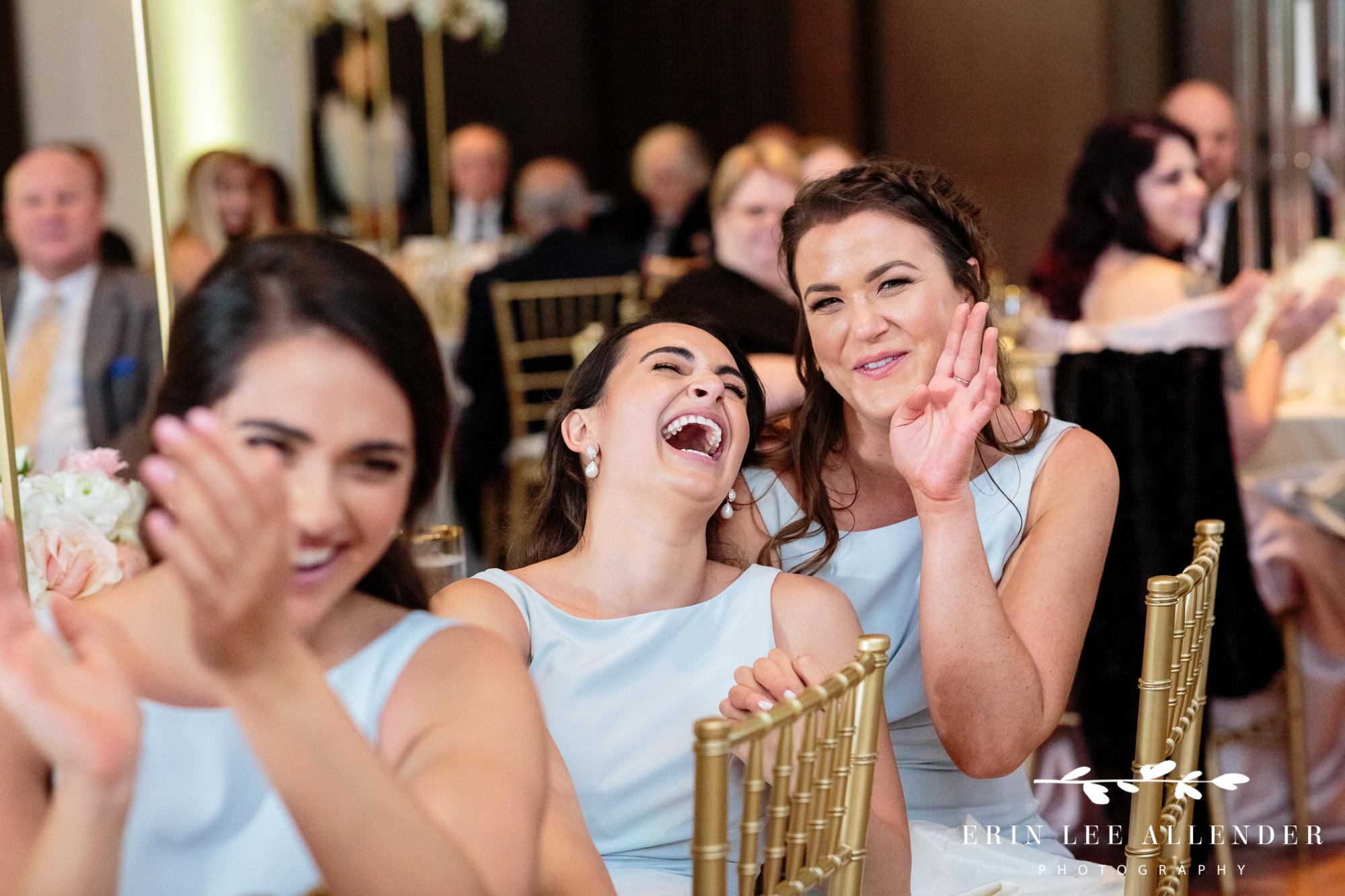 bridesmaids-laugh-at-toast