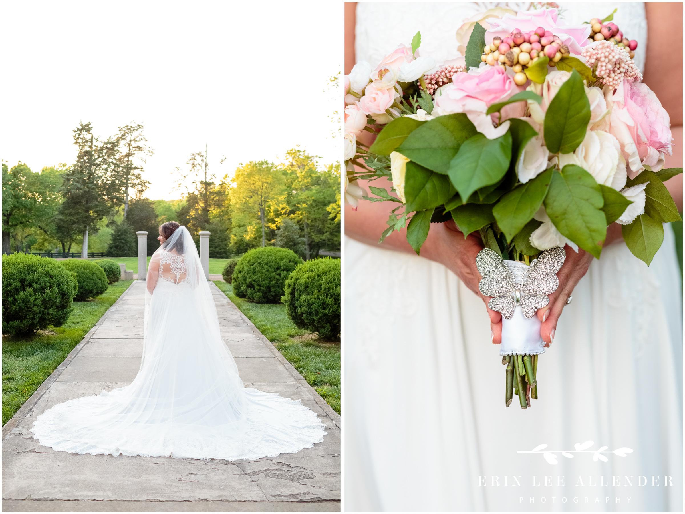 back-of-brides-dress